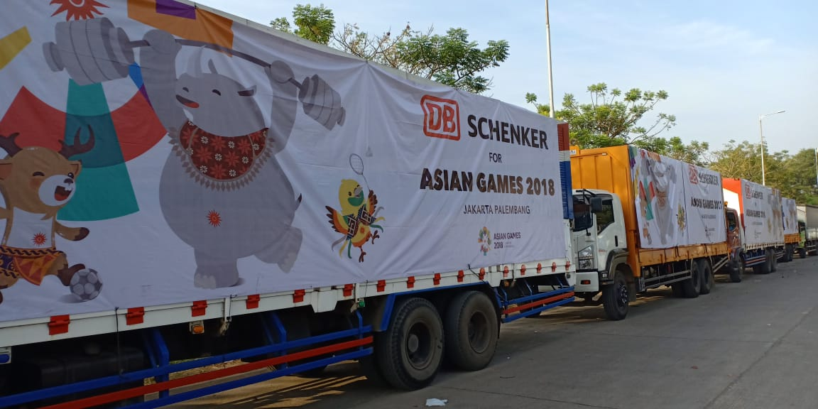 DB Schenker Road to Asian Games 2018